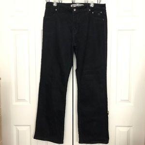 Harley Davidson Black Motorcycle Bootcut Pants